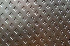 菱形金属穿孔网板7