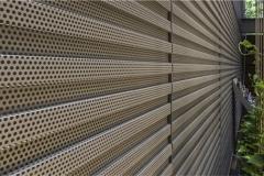 折弯穿孔铝板