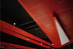 健身房吊顶装饰用的冲孔板