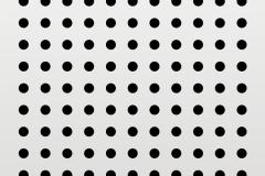 圆形直排孔穿孔铝板冲孔板