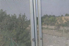 护栏用菱形钢板网