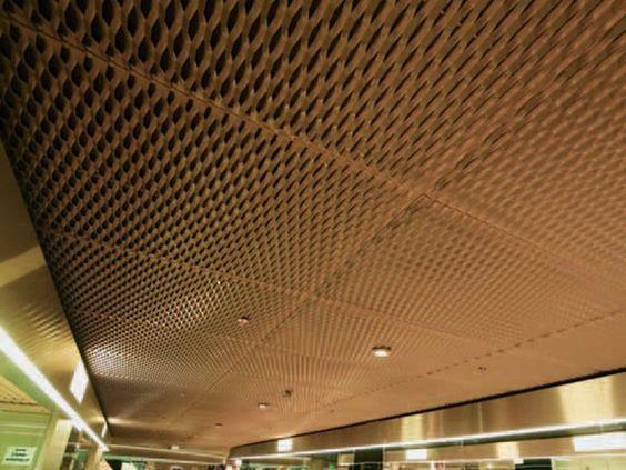 吊顶该如何装修 铝网 拉伸网 扩张网 拉伸网幕墙 吊顶 金属装饰网