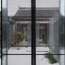 铝拉网外立面幕墙