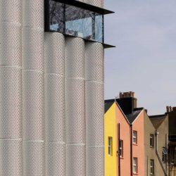 弧形铝扩张网幕墙外立面